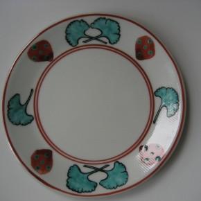 イチョウの皿