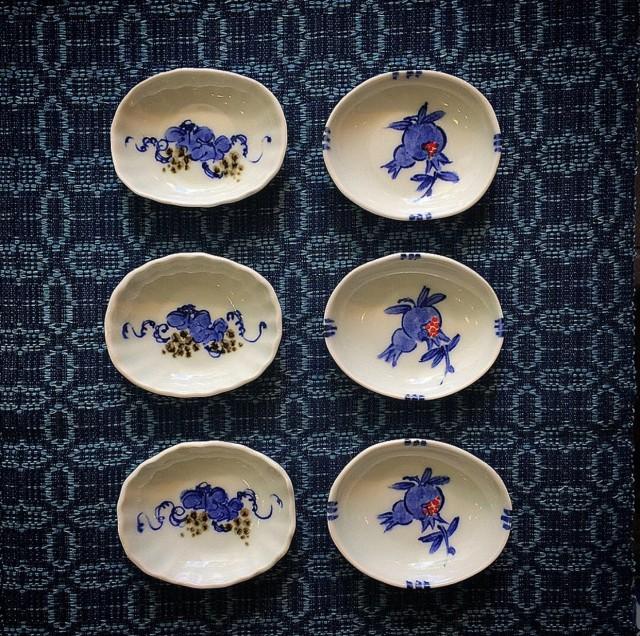 久窯 豆皿